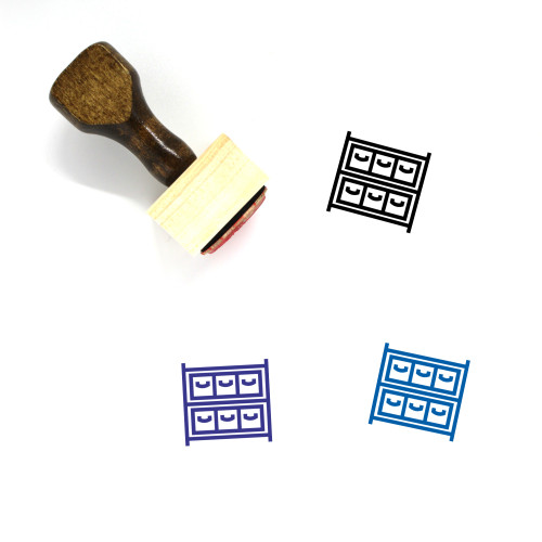 Stock Wooden Rubber Stamp No. 37