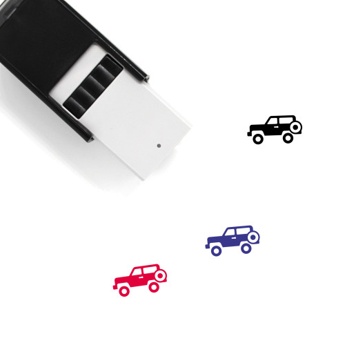 Jeep Self-Inking Rubber Stamp No. 47