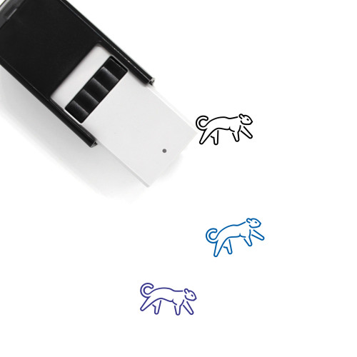 Panther Self-Inking Rubber Stamp No. 21