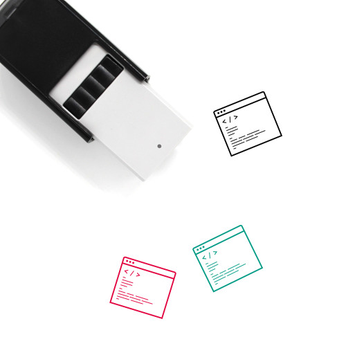 Website Self-Inking Rubber Stamp No. 94