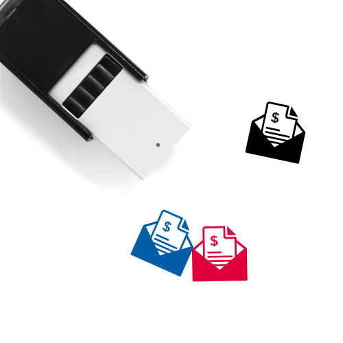 Bank Statement Self-Inking Rubber Stamp No. 2