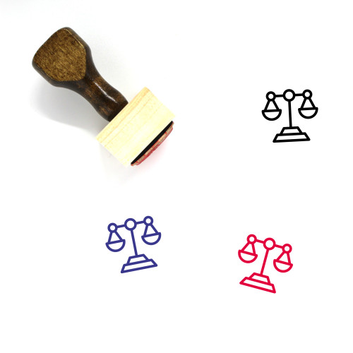 Equality Wooden Rubber Stamp No. 36