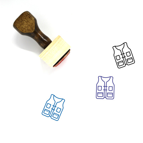 Hunter Wooden Rubber Stamp No. 23