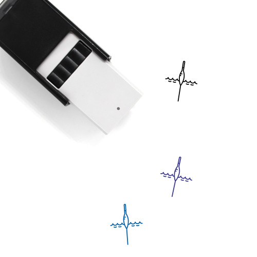 Float Self-Inking Rubber Stamp No. 28