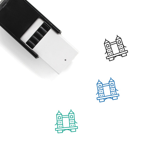 Tower Bridge Self-Inking Rubber Stamp No. 2