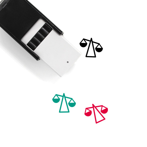 Scale Self-Inking Rubber Stamp No. 299