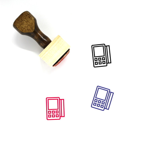 Terminal Wooden Rubber Stamp No. 49