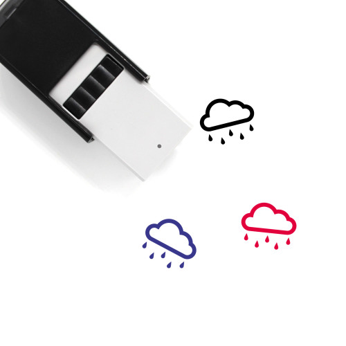 Drizzle Self-Inking Rubber Stamp No. 19
