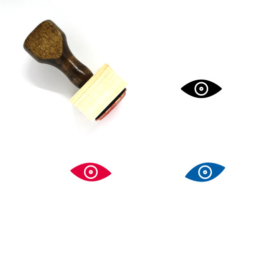 Eye Wooden Rubber Stamp No. 485