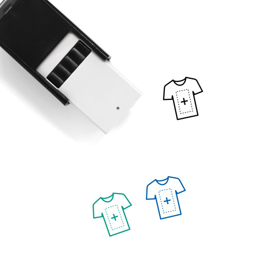 Tshirt Self-Inking Rubber Stamp No. 90