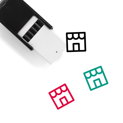 Shop Self-Inking Rubber Stamp No. 151