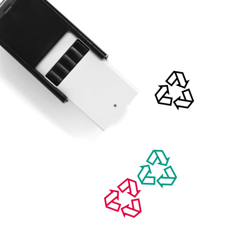 Recycling Self-Inking Rubber Stamp No. 12