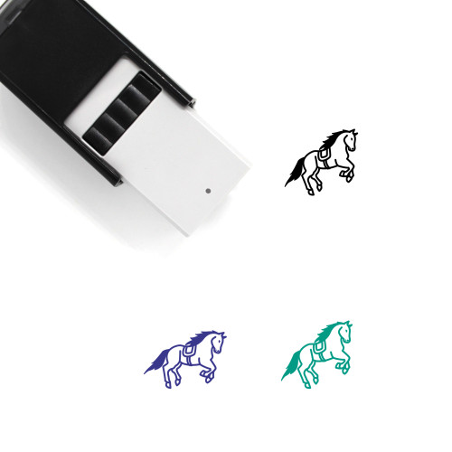 Horse Self-Inking Rubber Stamp No. 134