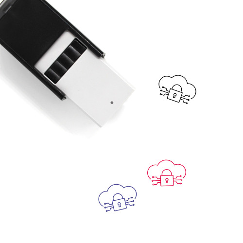 Data Base Self-Inking Rubber Stamp No. 1