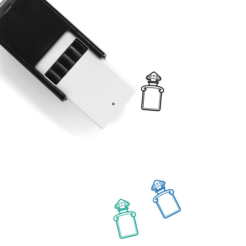 Perfume Self-Inking Rubber Stamp No. 55