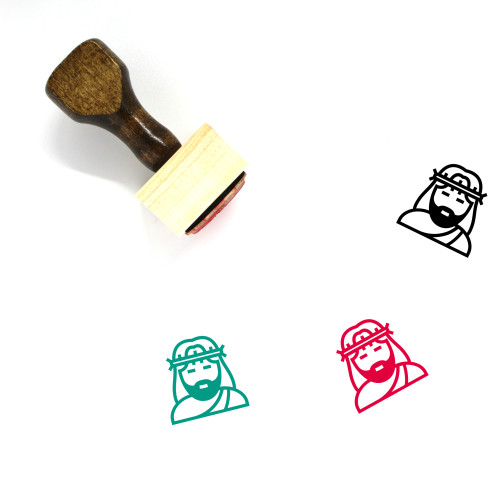 Christ Wooden Rubber Stamp No. 21