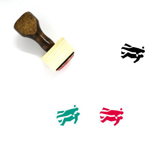 Relationship Wooden Rubber Stamp No. 38