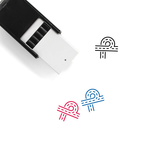 Highway Self-Inking Rubber Stamp No. 53