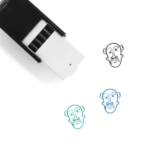 Old Man Self-Inking Rubber Stamp No. 61