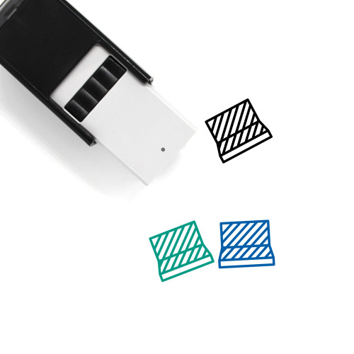 Fencing Self-Inking Rubber Stamp No. 91