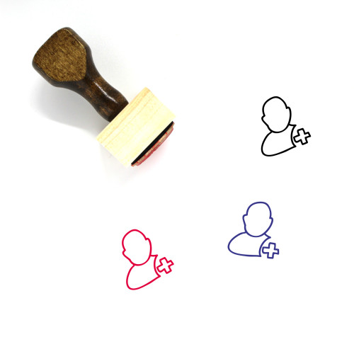 Account Wooden Rubber Stamp No. 190