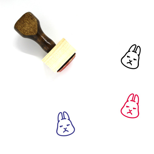Annoying Wooden Rubber Stamp No. 37
