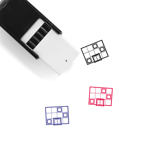 Shop Self-Inking Rubber Stamp No. 153