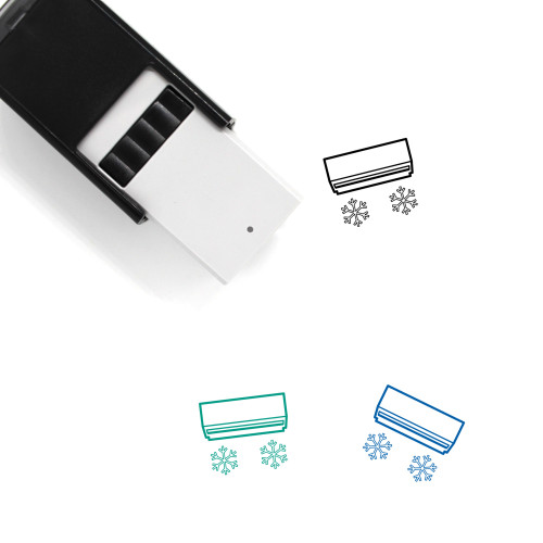 Air Conditioner Self-Inking Rubber Stamp No. 40