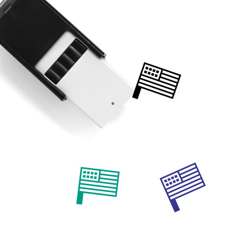 USA Self-Inking Rubber Stamp No. 41