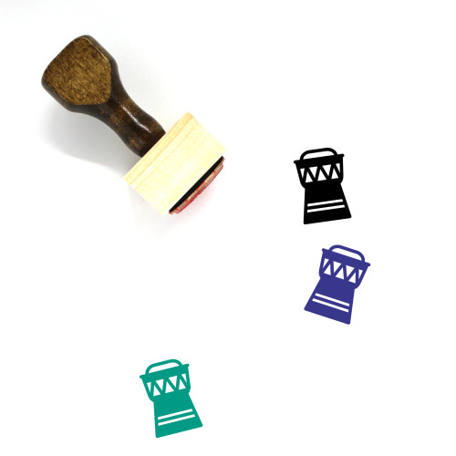 Artifact Wooden Rubber Stamp No. 11