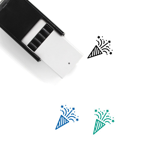 Celebrate Self-Inking Rubber Stamp No. 50