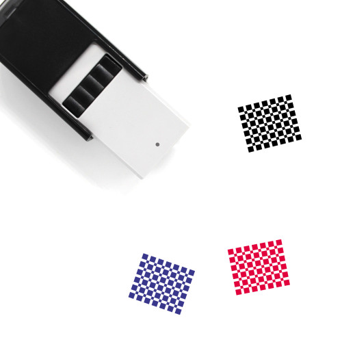 Cable Box Self-Inking Rubber Stamp No. 1