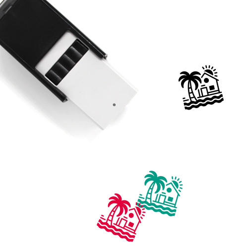Beach House Self-Inking Rubber Stamp No. 5