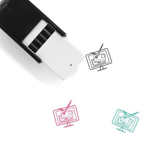 Accepted Self-Inking Rubber Stamp No. 24