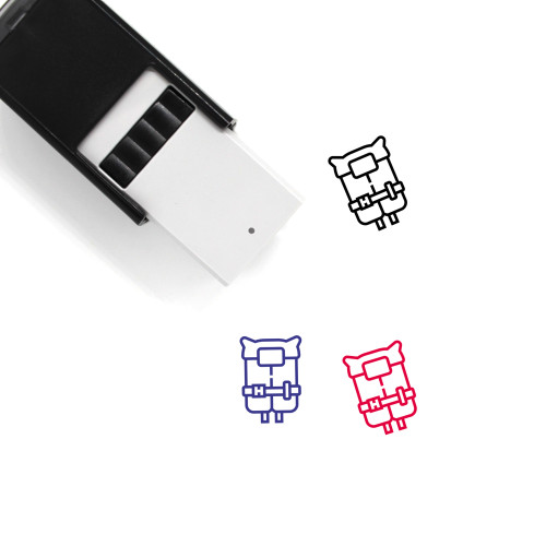 Lift Jacket Self-Inking Rubber Stamp No. 1