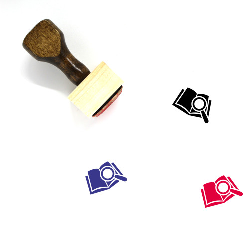 Research Wooden Rubber Stamp No. 43