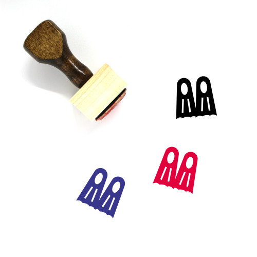 Sports Wooden Rubber Stamp No. 169