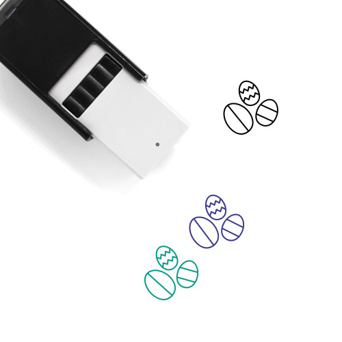 Easter Eggs Self-Inking Rubber Stamp No. 145