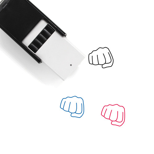 Punch Self-Inking Rubber Stamp No. 45
