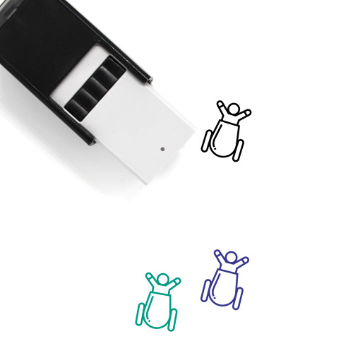 Cannon Self-Inking Rubber Stamp No. 85