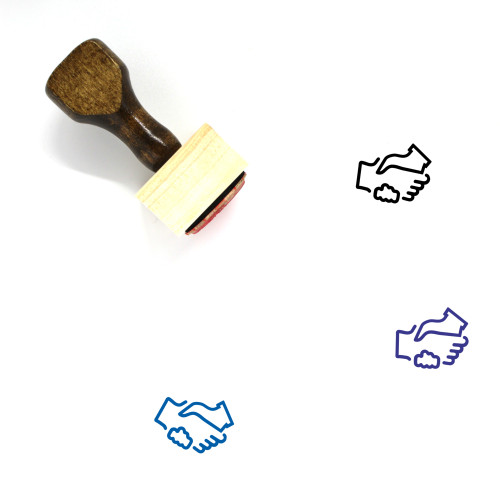 Agreement Wooden Rubber Stamp No. 48