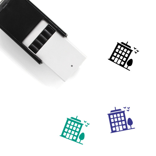 Multistory Self-Inking Rubber Stamp No. 1