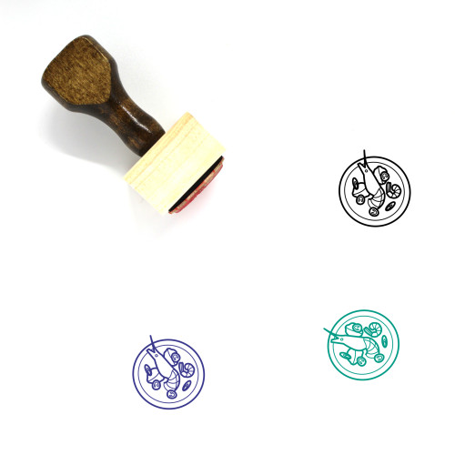 Tom Yum Kung Wooden Rubber Stamp No. 3