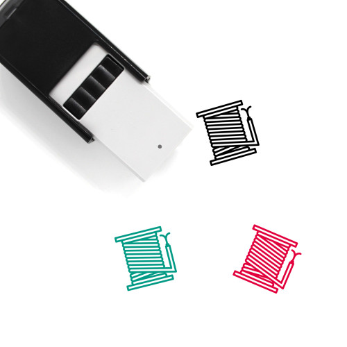 Reel Cable Self-Inking Rubber Stamp No. 1