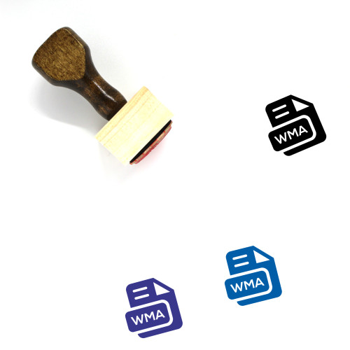 WMA Wooden Rubber Stamp No. 23