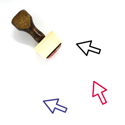 Arrow Wooden Rubber Stamp No. 1149