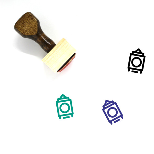 London Wooden Rubber Stamp No. 22