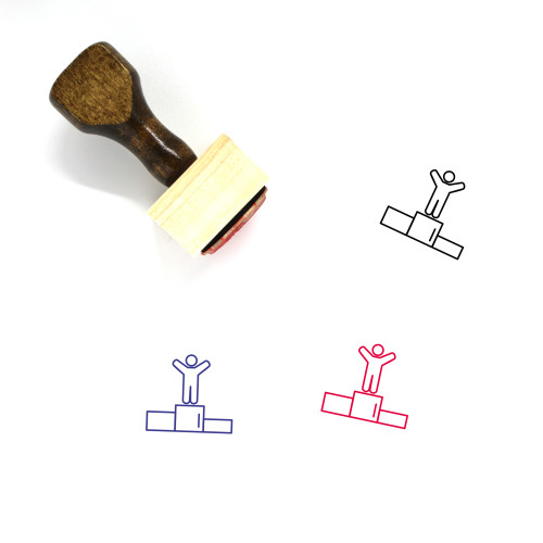 Champion Wooden Rubber Stamp No. 9