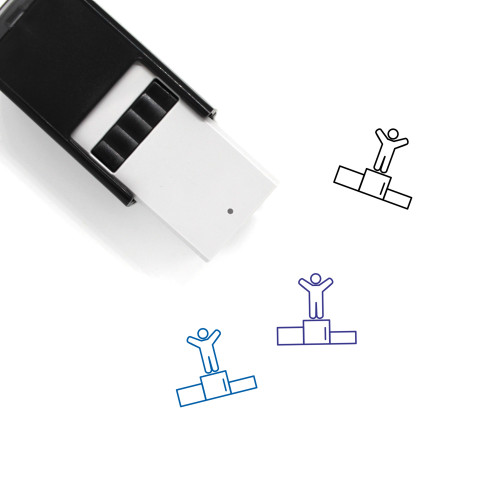 Champion Self-Inking Rubber Stamp No. 9