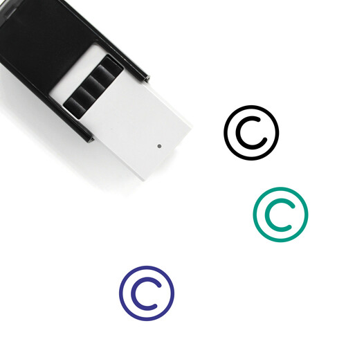 Copyright Self-Inking Rubber Stamp No. 17